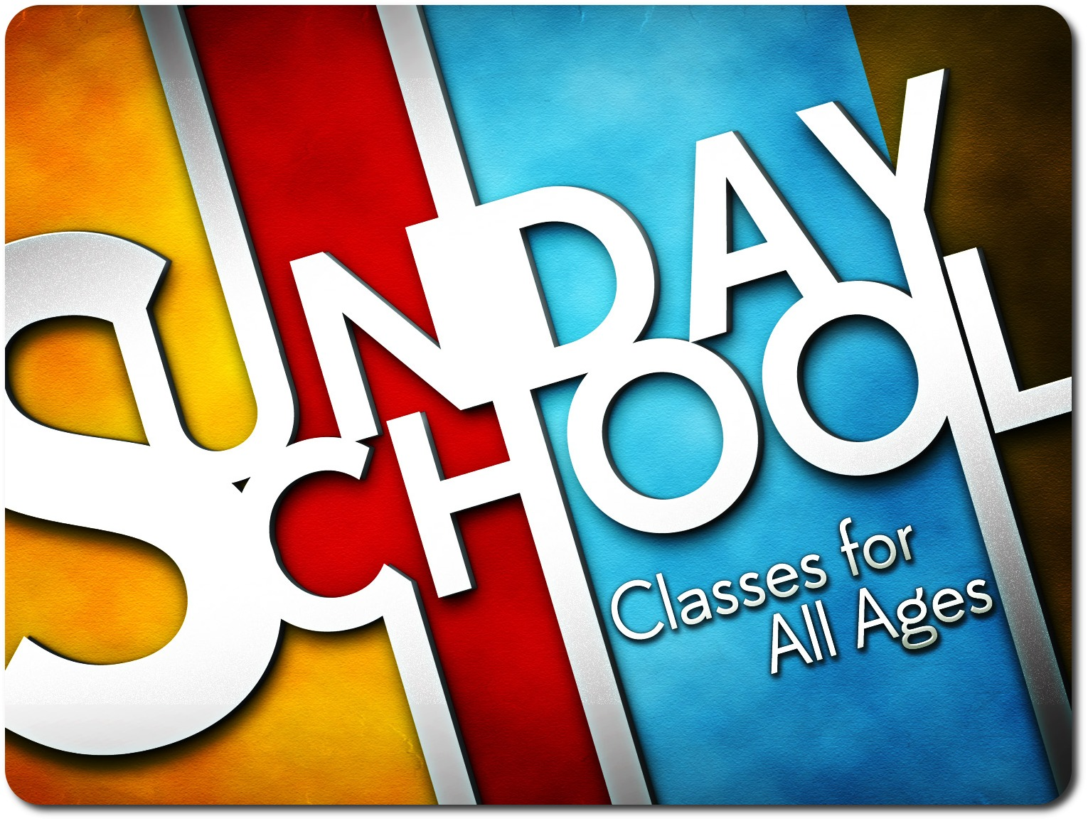 Sunday School/Bible Classes