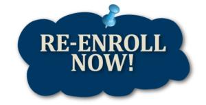 HCLS Re-Enrollment Due