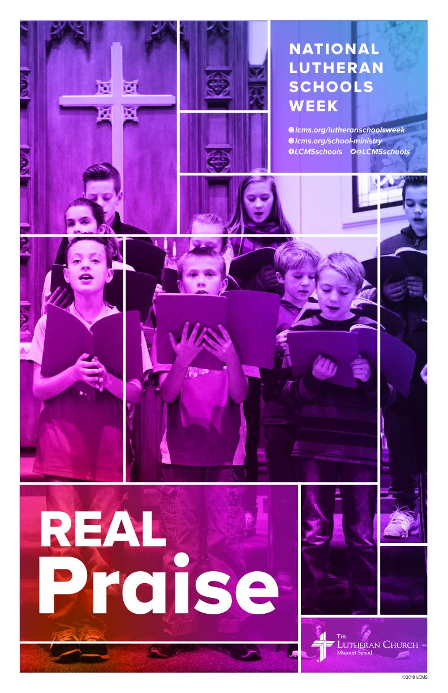 Real Praise-Lutheran Schools Week