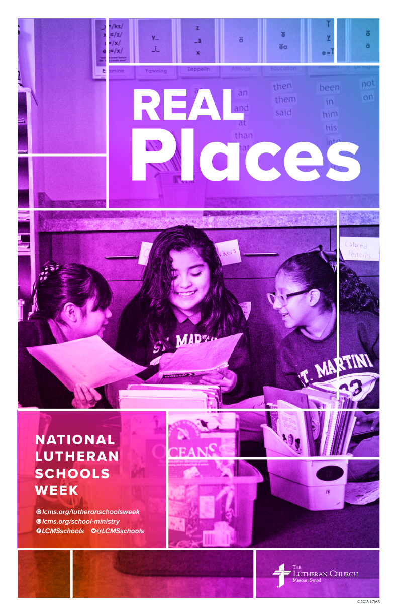 Real Places-Lutheran Schools Week