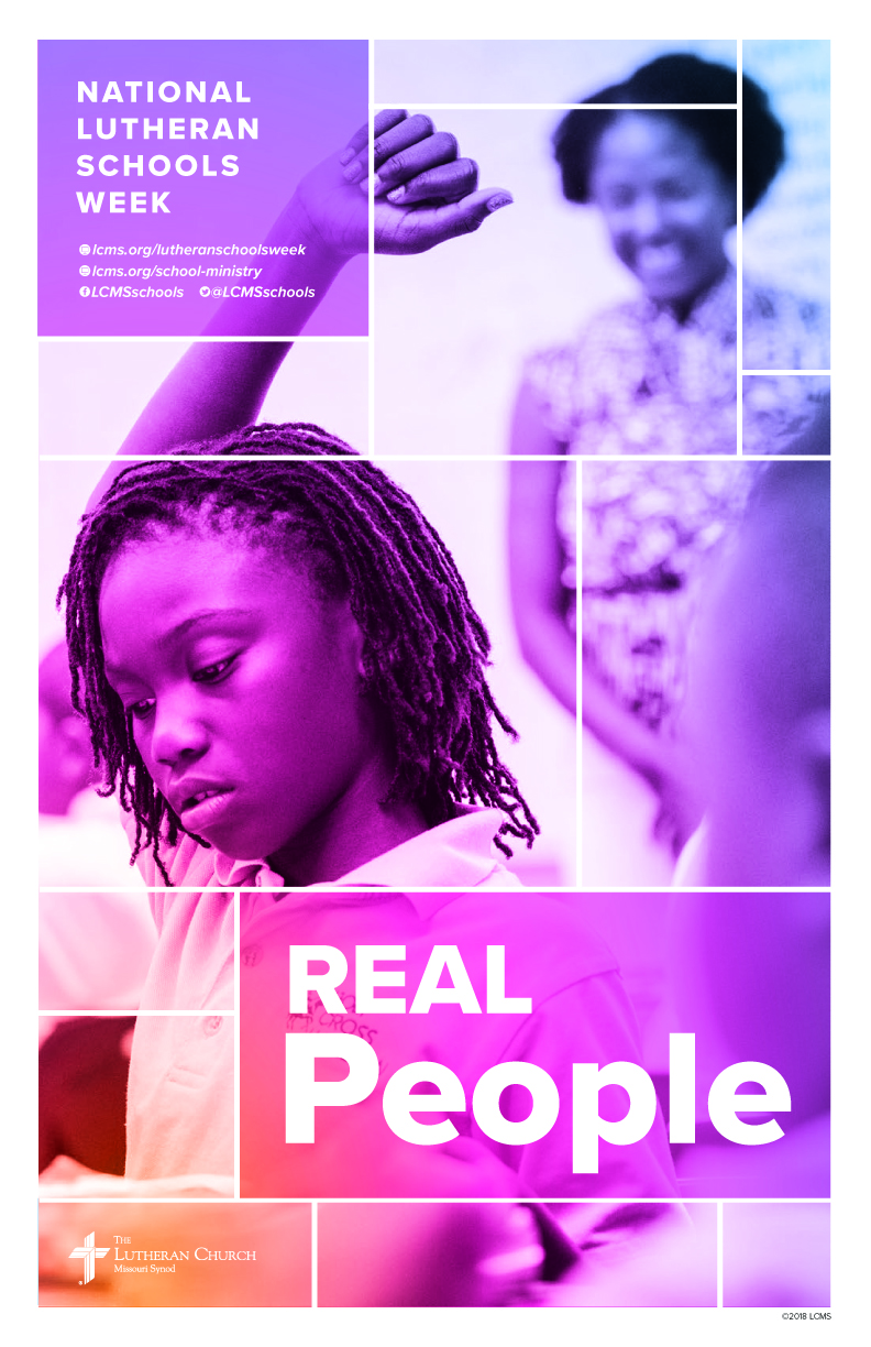 Real People -Lutheran Schools Week