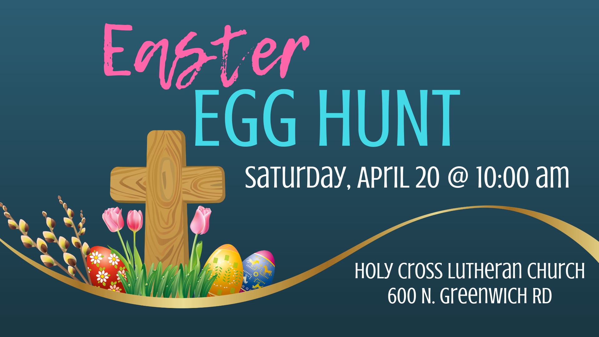 Easter Egg Hunt @ Holy Cross Lutheran Church