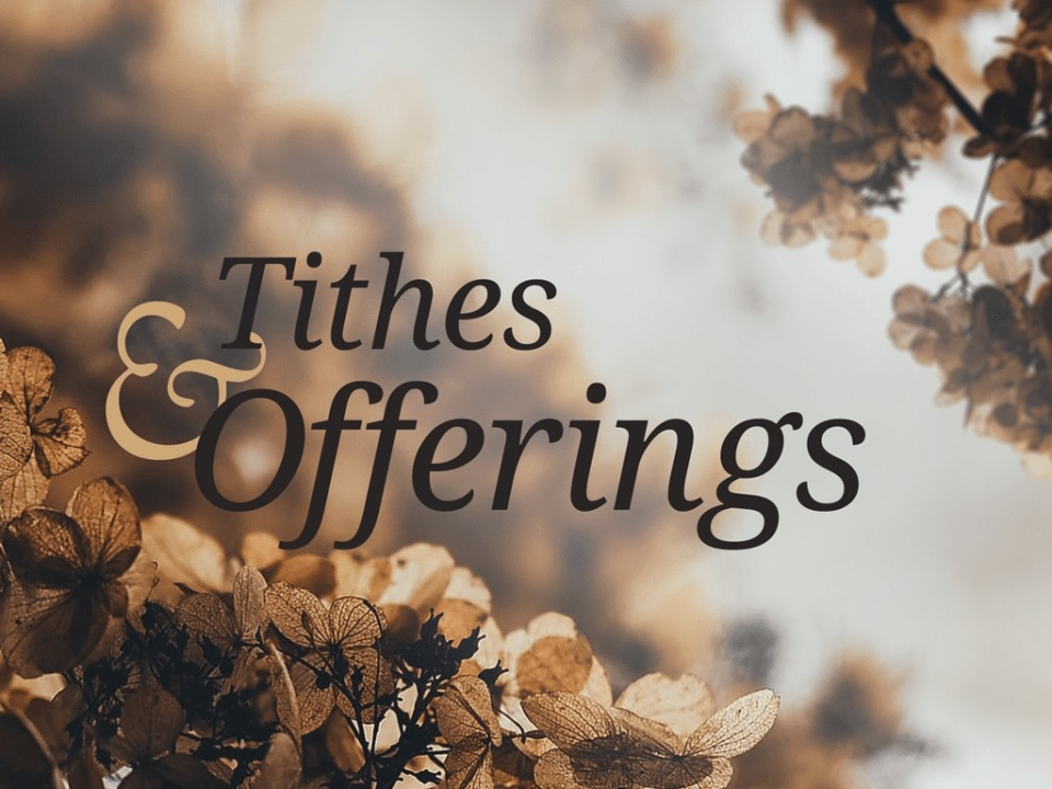 Online Tithing