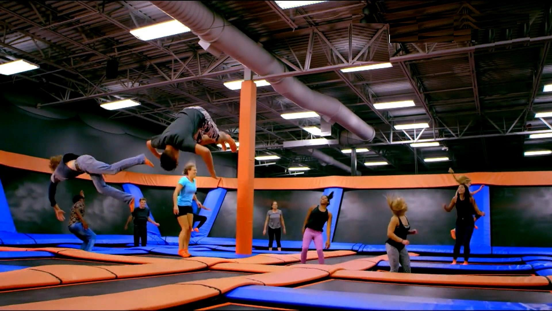 Youth Ministry Trampoline Park